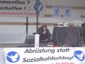 Auftakt in Duisburg